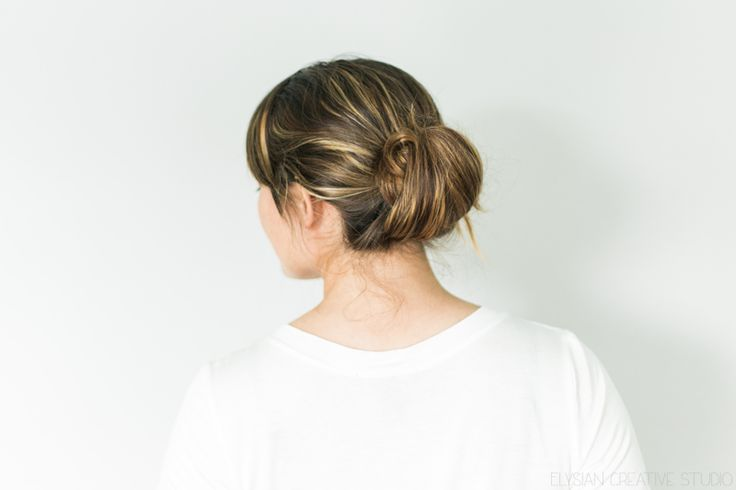 Late for work? Just having one of those days? This lazy girl bun hair tutorial is so quick and easy. Give it a try! // www.thinkelysian.com