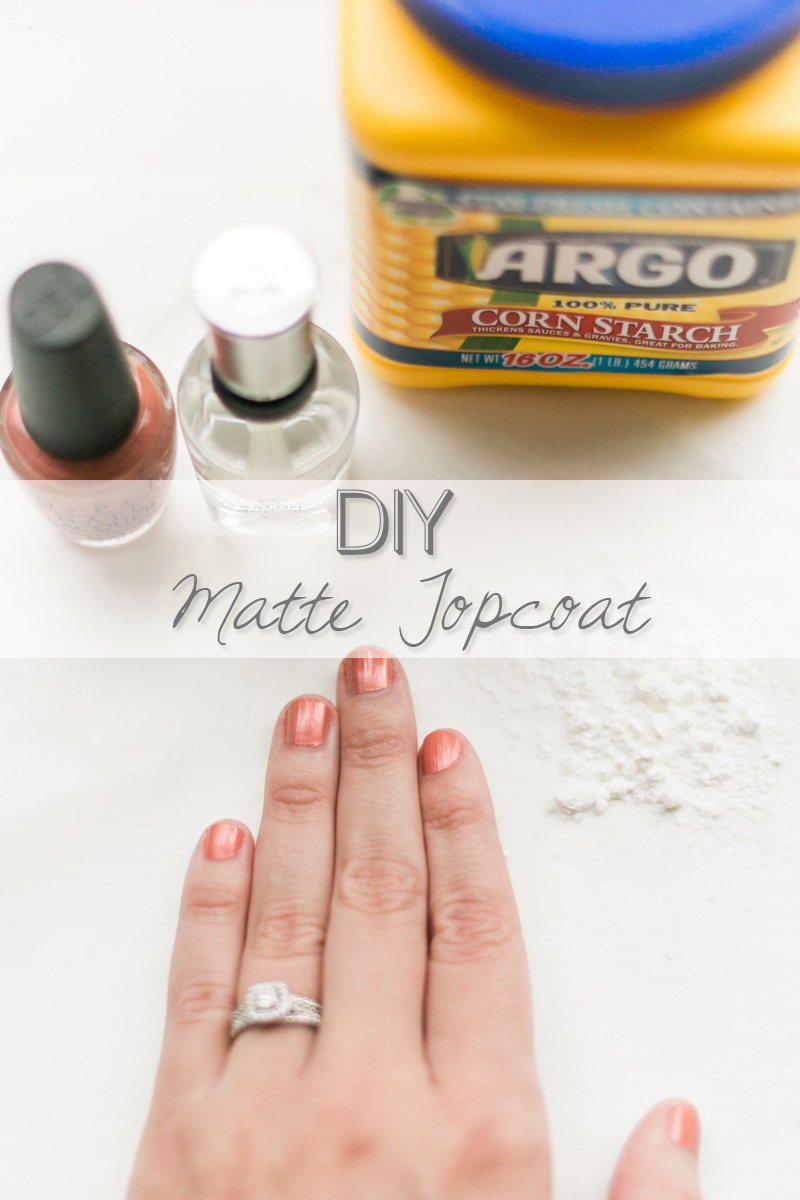 Super easy At-home DIY Matte Nail Polish Topcoat // www.thinkelysian.com
