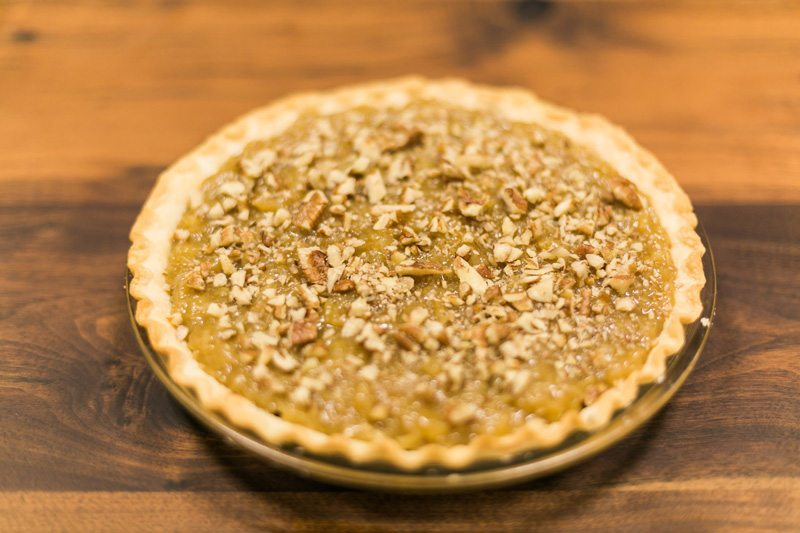 Easy German Chocolate Pie Recipe // www.thinkelysian.com