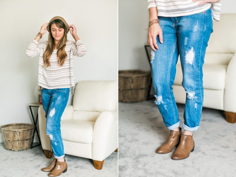 Relaxed Style: Comfy Knits + Boyfriend Jeans + Ankle Boots // www.thinkelysian.com