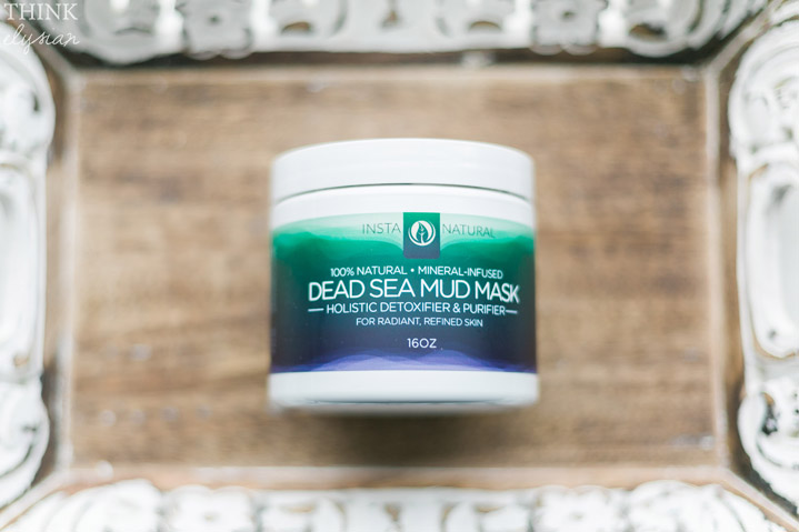 Dead Sea Mud Mask product review // www.thinkelysian.com