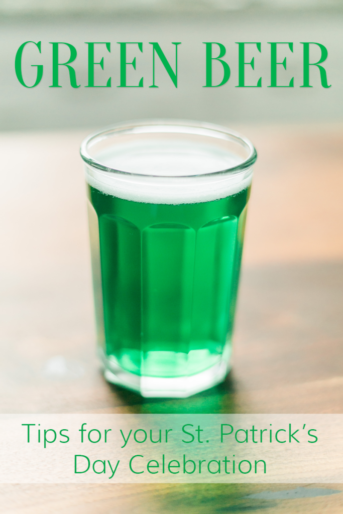 Green Beer Tips & Tricks for your St. Patrick's Day celebration // www.thinkelysian.com