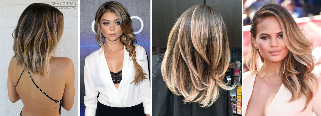 What I'm Pinning - Blunt Bobs & Balayage Hair Trends