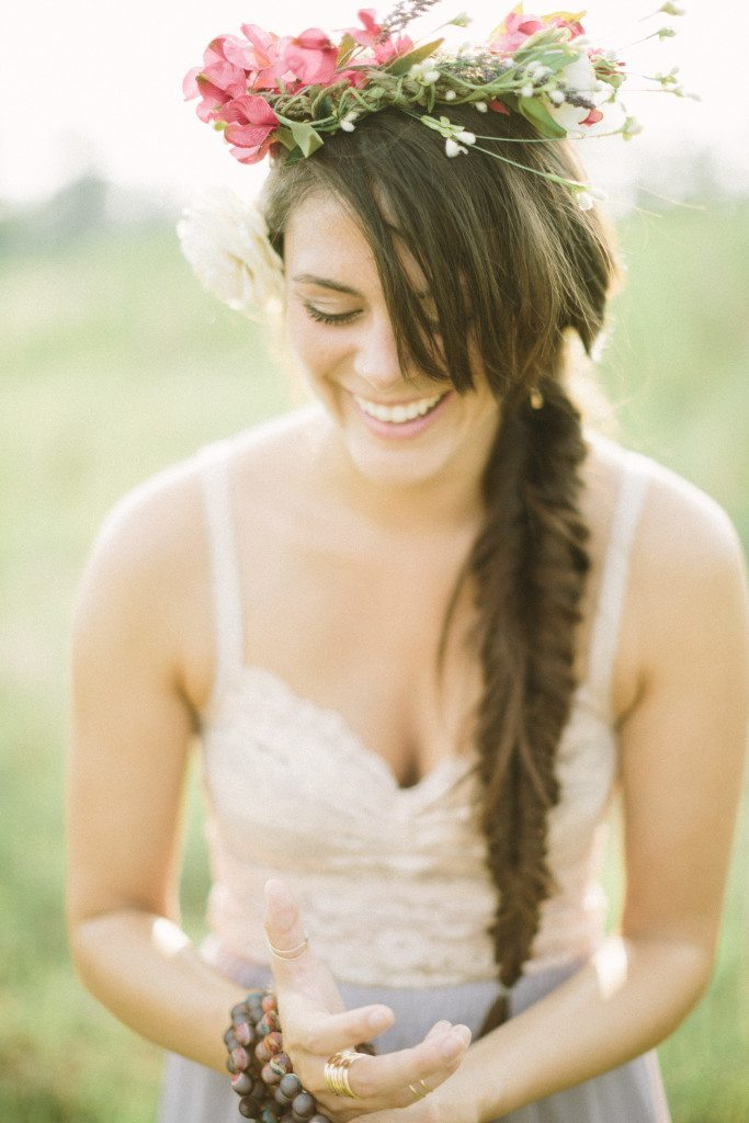 Mustard Seed Photography - Bohemian Styled Session - Boho fishtail braid tutorial by Think Elysian // www.thinkelysian.com