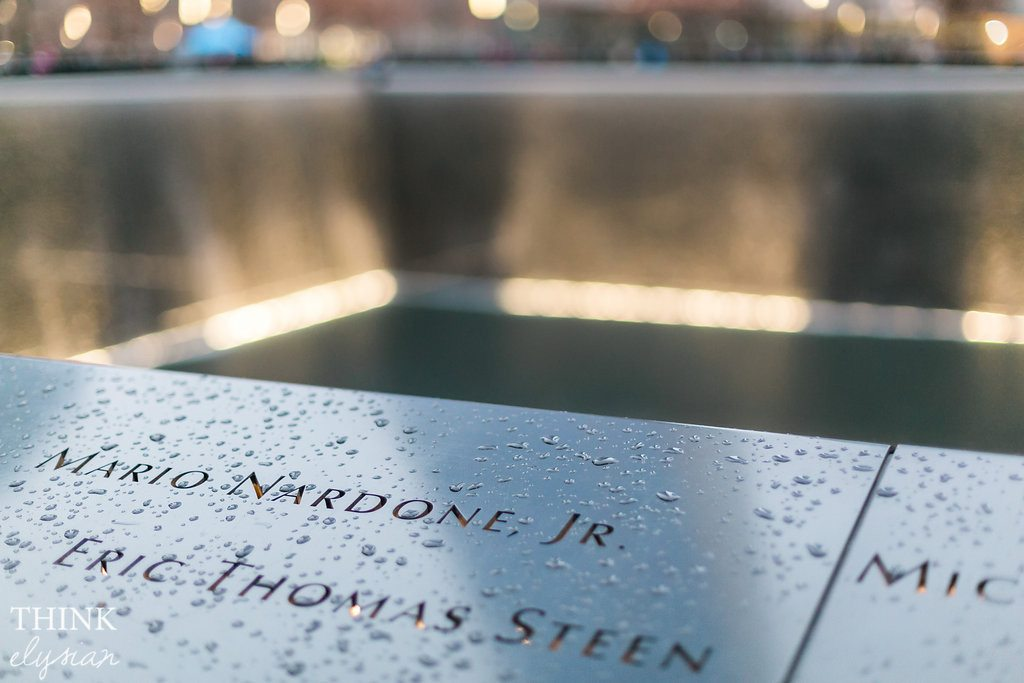9/11 Ground Zero Memorial in New York City - Never Forget // www.thinkelysian.com