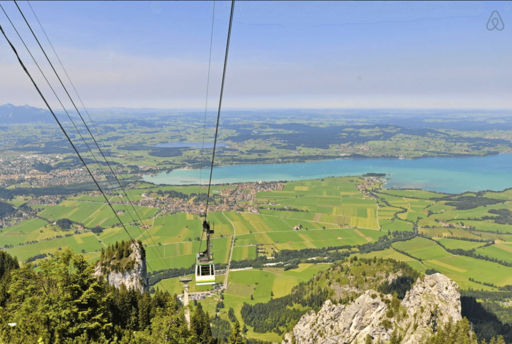Wanderlust Wednesday - Affordable rentals near The Neuschwanstein Castle in Germany - Budget Travel Guide from Think Elysian style + travel blog // www.thinkelysian.com