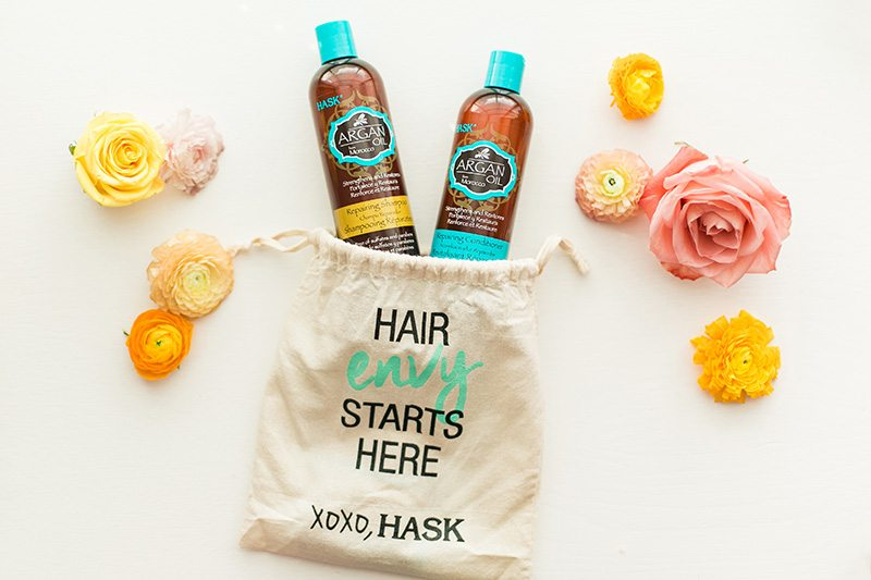 Think Elysian Product review of Hask Argan Oil Hair Products // www.thinkelysian.com