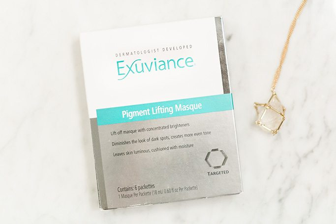 Pamper your skin with Exuviance Pigment Lifting Masque! // www.thinkelysian.com